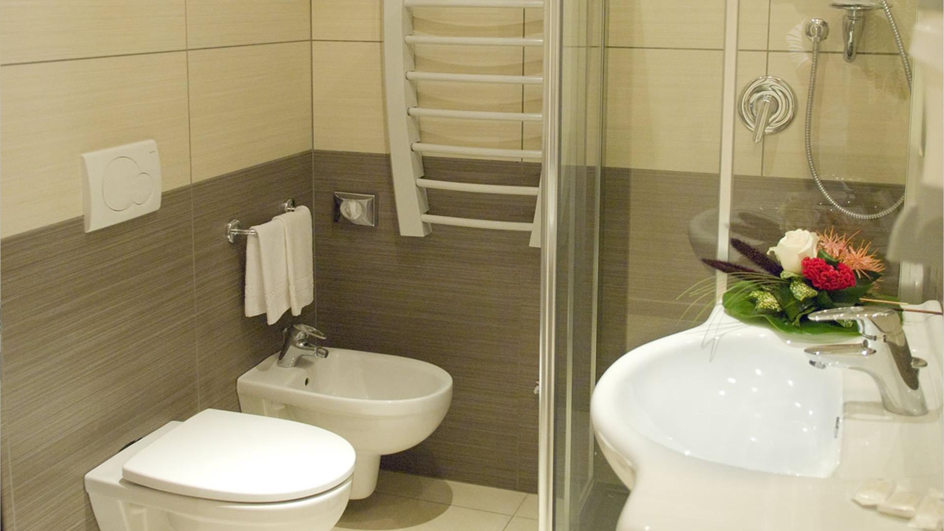 Bagno Camera Hotel Risberg